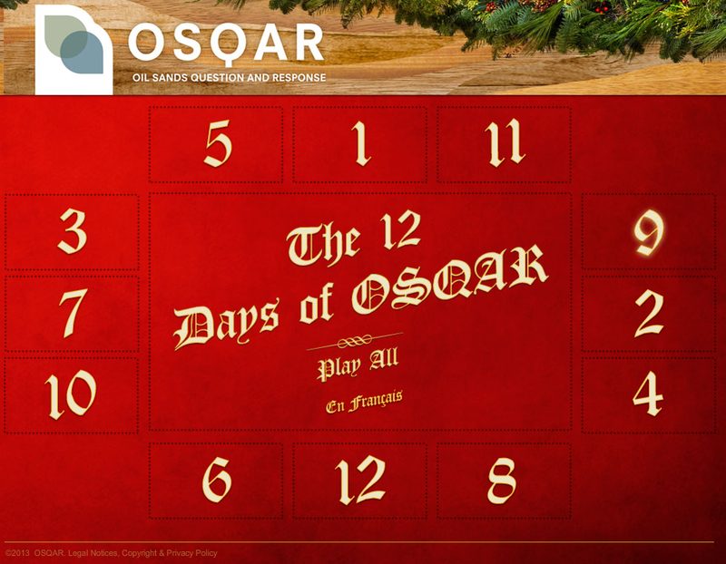 The 12 Days of OSQAR